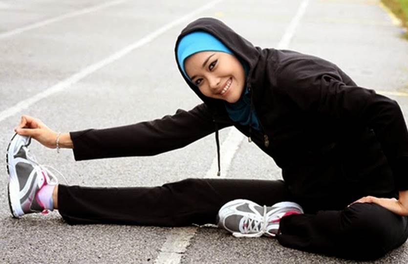Cara Muslimah Berolahraga